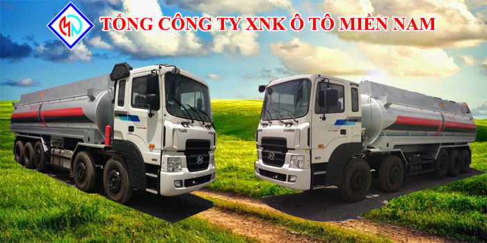 Xe Tải Hyundai Bồn Xăng Dầu