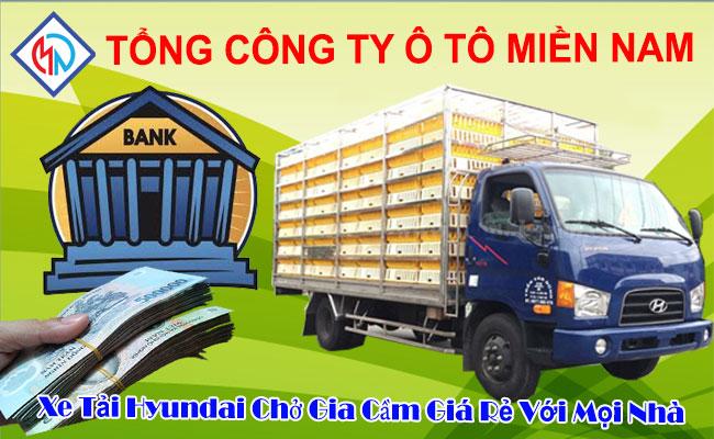 Xe Tải Hyundai Chở Gia Cầm 4.5 Tấn